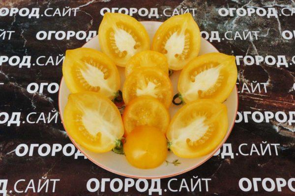 томат Чудо света (лимон-лиана)