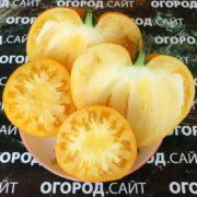 томат минусинское сердце жёлтое фото