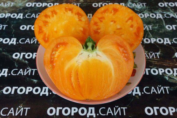 томат немецкая земляника оранжевая