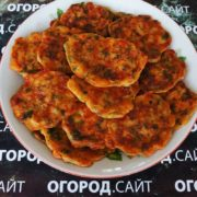 Помидорные котлетки из томатов Сантарини