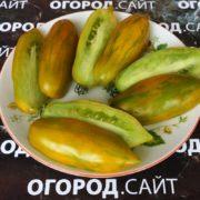 Томат Зелёная сосиска