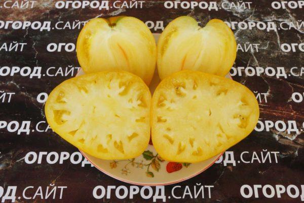 Томат Гонсиоровские сердца жёлтые